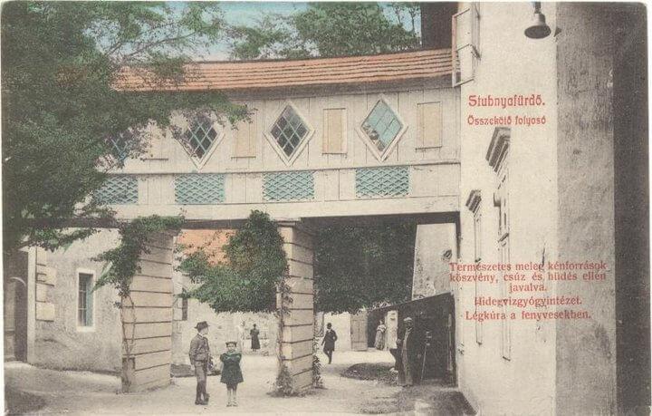 Historická fotografia Turčianske Tepice